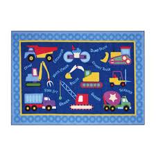amazon com fun rugs olive kids under construction rug 39