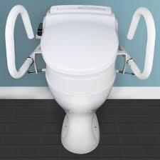 Bio Bidet Bb 1000 Supreme Throne Accessories 3 In 1 Toilet Support Rail With 80mm Toilet