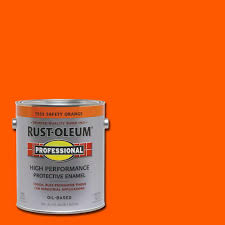 rust oleum professional 1 gal black gloss protective enamel