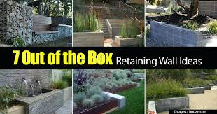 Small Garden Retaining Wall Ideas Retaining Wall Landscaping Ideas Ghanko