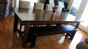 ana white dining room table dining room table bench ana white super big farmhouse and diy
