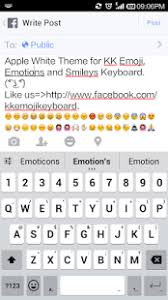 emoji keyboard 6 apk emoji keyboard white smart 1 5 apk downloadapk net