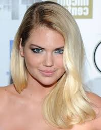 kate uptons hair colour kate upton deep side part casual everyday careforhair co uk