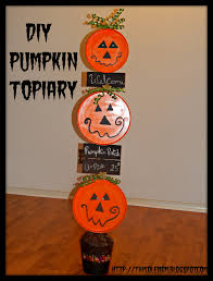 pumpkin topiary diy pumpkin topiary this ole