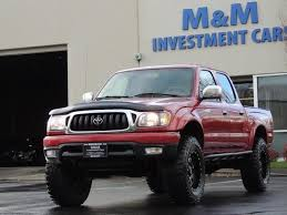 2001 to 2004 toyota tacoma for sale 2004 toyota tacoma v6 4dr limited 4x4 trd rd lifted lifted