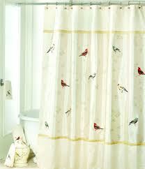 Curtains Birds Theme Home Bath U0026 Personal Care Shower Curtains U0026 Rings Dillards Com
