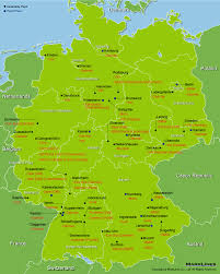 Ulm Germany Map by Oem Plants Germany Marklines Automotive Industry Portal