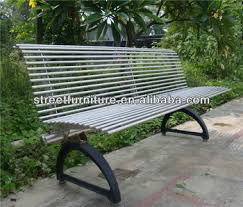 Steel Garden Bench Outdoor Garden Bench Stainless Steel Cast Iron Bench Frame Buy