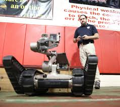 swat team uses robots to minimize risks in police standoffs news