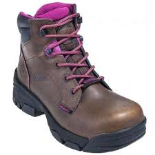 womens boots toe wolverine boots s 10383 brown merlin eh composite toe boots