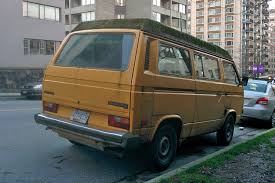 volkswagen minibus 2016 old parked cars vancouver volkswagen