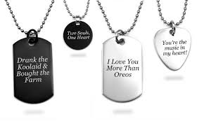 mens engraved necklaces custom engraving ideas to help you get inspired
