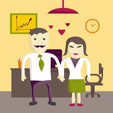 l amour dans le bureau amour dans le bureau homme et femme de directeur de bureau deux dans
