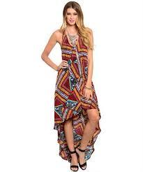 dress boho fashion fall high low dresses thanksgiving