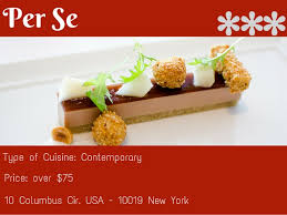 cuisine usa the three michelin restaurants in the usa