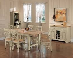 shabby chic dining table and chairs pueblosinfronteras us