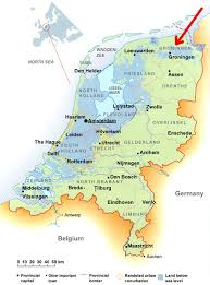 netherlands map cities groningen map