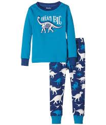 hatley boys dinosaur print pyjamas blue by hatley briannagh