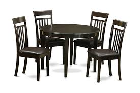 5 piece small kitchen table and 4 dining chairs 5 piece small