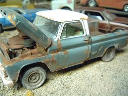opel blitz camper unrestored truck junker models 125scale