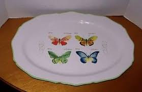 butterfly serving platter williams sonoma garden butterfly serving platter marc lacaze new