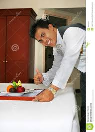 deliver fruit room service deliver fruit with thumb up stock photo image 4564470