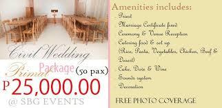 cheap wedding packages quezon city promo civil wedding venues events quezon city civil
