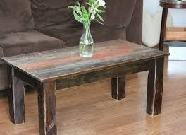 Barn Wood Coffee Table Crafted Barnwood Coffee Table By Ross Alan Reclaimed