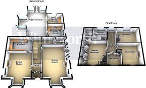sle floor plan 4 bedroom detached house for sale in manor ruskington