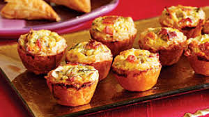 delicious finger food for parties mini quiche filled with salmon
