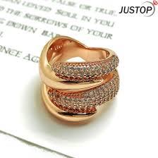 fashion golden rings images China christian jewelry gift snake shape diamond swirling golden jpg