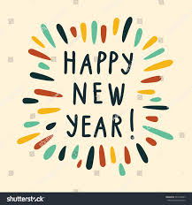 happy new years posters happy new year poster color splash stock vector 532144627