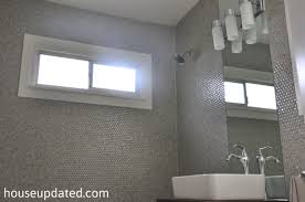 Installing Tile On Walls Tips For How To Install Penny Tile House Updated