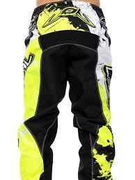 motocross gear nz oneal black hi viz 2018 element shocker mx pant oneal