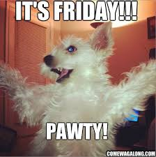 tgif happy friday come wag along