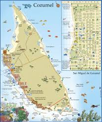 Cozumel Mexico Map by Index Of Images Cozumel