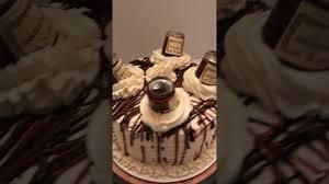 butter pecan hennessy cake w hennessy buttercream youtube