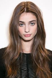 best spring haircuts for 2015 pink clean makeup beauty model messy hairstyle runway