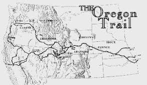 map of oregon 2 map of oregon trail 2