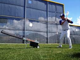 wheeler dealer soft toss pitching machine softball baseball