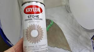 Krylon Textured Spray Paint - painted faux metal angel wings made from cardboard my thrifty house