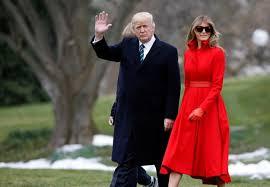 donald trump kw washington melania trump announces first overseas trip as first lady