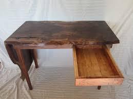 live edge desk with drawers live edge desk by pimpson lumberjocks com woodworking community