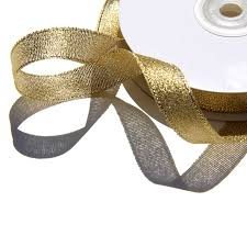 gold metallic ribbon 8 gold metallic ribbon