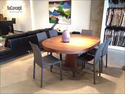 dining room round wood kitchen table extendable glass dining