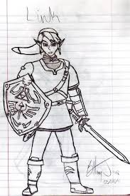 super smash bros brawl link by badasssheik92 on deviantart