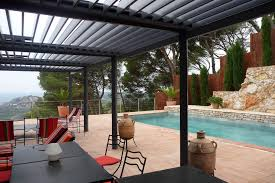 Pergola System the bioclimatique louver roof pergola cover retractableawnings com