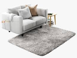seat sofa norsborg two seat sofa with side table and rug 3d model max obj