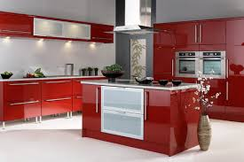 High Gloss Kitchen Cabinets by Red High Gloss Kitchen Cabinets Kitchen Cabinets Colors