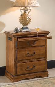 Traditional Nightstands Nice 3 Drawer Nightstands Bowfront 3 Drawer Nightstand Traditional